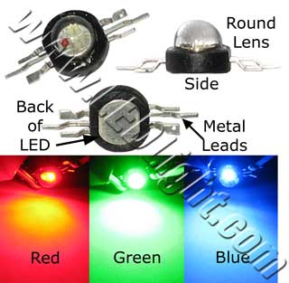 3 Watt RGB LED Lamp 1/Pk NCNRNW