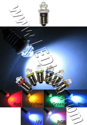 e10 screw super flux led bulb 12 vdc automotive led lights ledlight. Black Bedroom Furniture Sets. Home Design Ideas