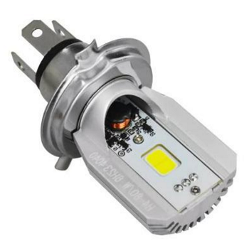 LED Headlight M2S 8 Watt H4 Base 12 Volt High/Low Dual Beam