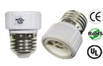E27 male To GU8.5 female Adapter Converter Lamp Holder