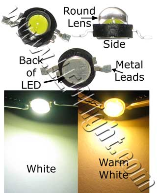 1 Watt High Power LED Lamp 1/Pk NCNRNW
