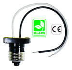 E26 male with wires Lamp Holder Adapter