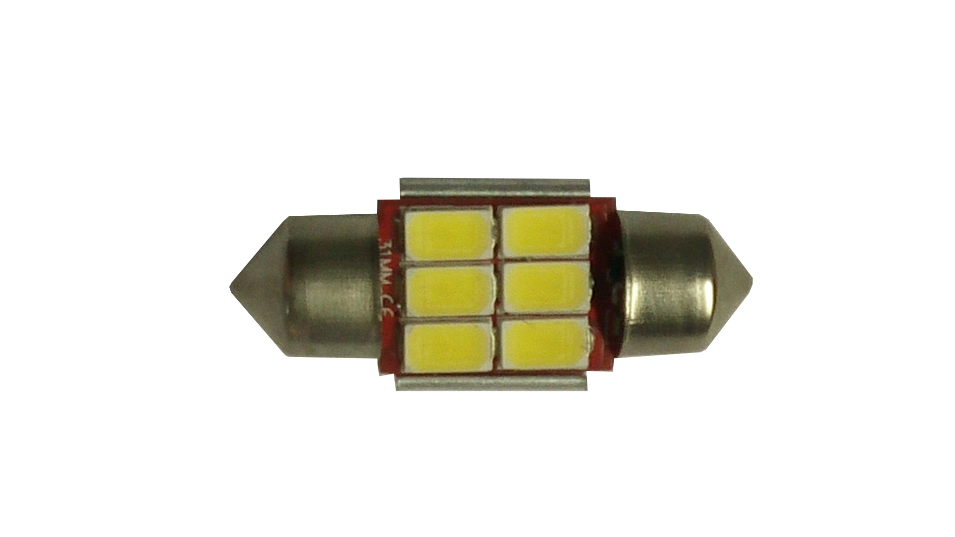 6435 Festoon 6 Volt 1-1/4-Inches