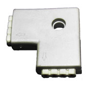 Connector 4 Conductor 2 Way Injected
