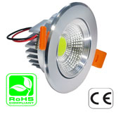 Downlight 3 Watt MCOB LED 100-240VAC