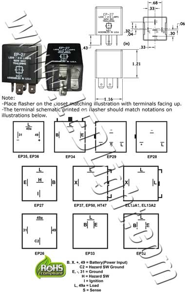 ep27 flasher wiring diagram