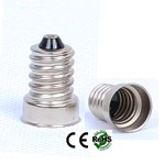 E14 male Solder-able Copper Base Cap