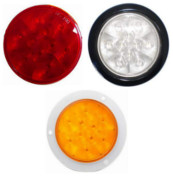 "4"" Sealed Round Stop/Turn/Tail/Back-Up LED Light"