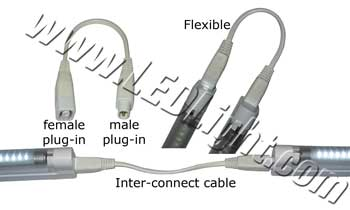 picture of a T5 Tube Light Inter Connect Cable