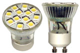 GU10 12 SMD 120 VAC LOW PROFILE