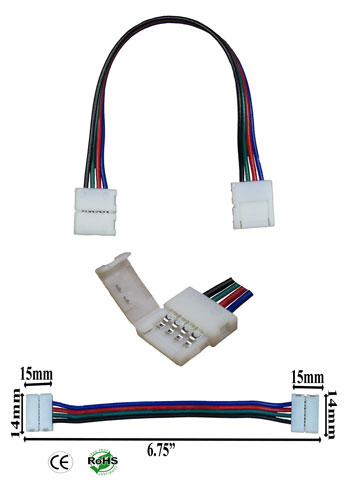 Interlink-able 10mm 4 Conductor To 10mm 4 Conductor