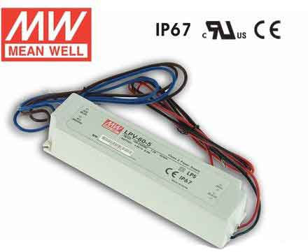 Power Supply Waterproof 102 Watt 12VDC 96-264V