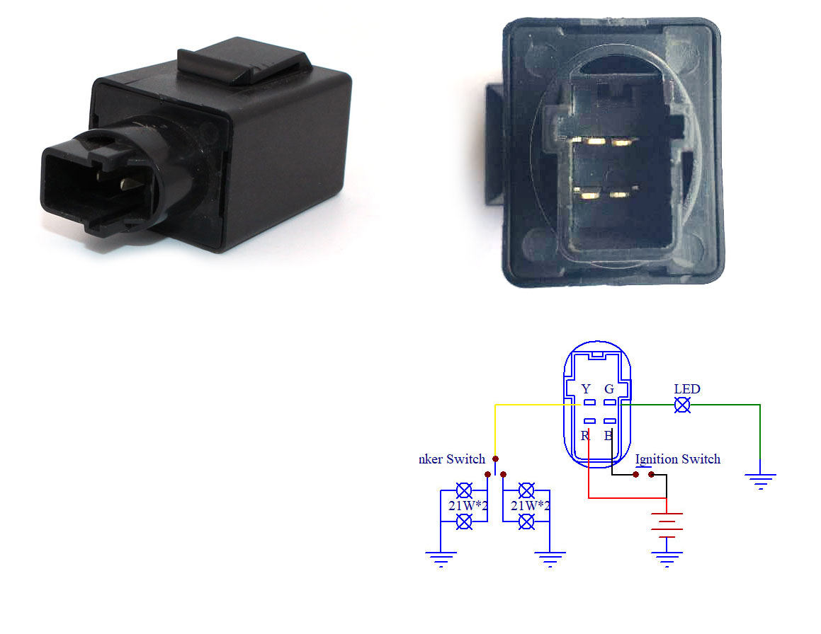 Flashers Led Lights Catalog 12 Volt Flasher Circuit Click For Details 12v Dc 65w 4 Pin Compatible With 38301 Mew 921