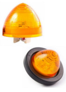 "2"" Beehive Sealed Side Marker & Clearance 2-Pin LED Light"