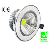 Down Light 10 Watt MCOB LED 100-240 VAC 180 Viewing
