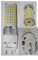 G12 LED Bulb 20 Watt 100-277 VAC 360 Degree