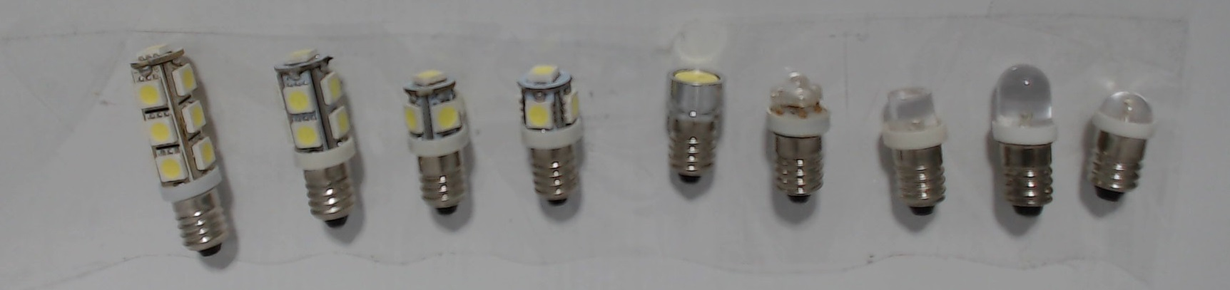 Miniature Bulbs E10 Base LED Lights and Lamps