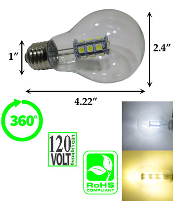 image of a led light bulb