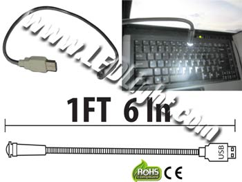 Image for LED USB Light for Computer Laptop